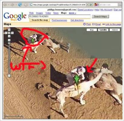 camelsex Google Maps exposing Human Camel relationships?