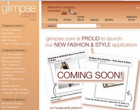 glimpse Glimpse takes fashion & style to Facebook