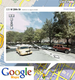 Google Maps' Street View and Mapplets