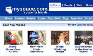 myspace Social network marketing to hit $2.5 billion in 2011
