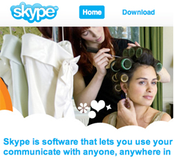Skype and Walmart