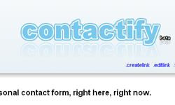 Contactify personal contact form