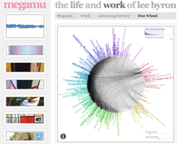 Megamu - Last.fm hue wheel
