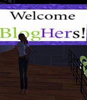 blogher sl BlogHer brings conference to Second Life