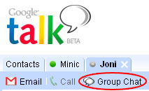Gtalk Group Chat