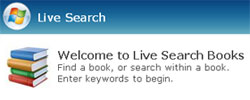 msn live book search1 Microsoft improves MSN Live Book Search, adds copyrighted works