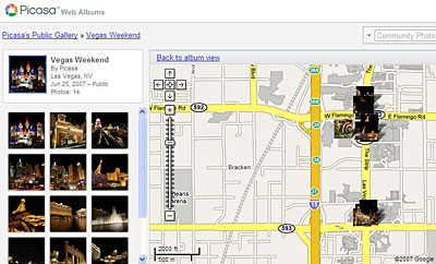 picassa google maps Google adds new Picasa features