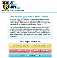 strut your hut StrutYourHut surfaces as real estate social network