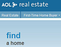aol real estate AOL taps Fidelity for real estate listings