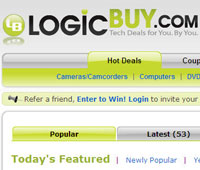 logic buy1 LogicBuy.com users vote on best tech deals