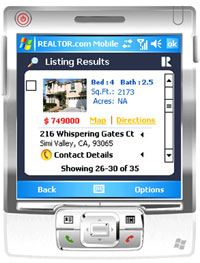 mobile realtor Realtor.com goes mobile on Windows devices