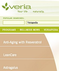 veria Veria brings natural wellness online