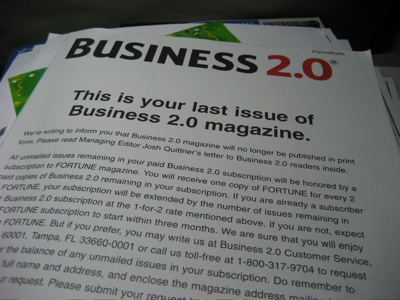 business21 So long, Business 2.0