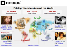 fotolog Fotolog hits 11 million members and 300 million photos posted
