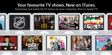 canada Canadas hit television programs now available on iTunes