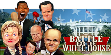 gameloft Political contest plays out on mobile phones with Gamelofts 'Battle for the White House'