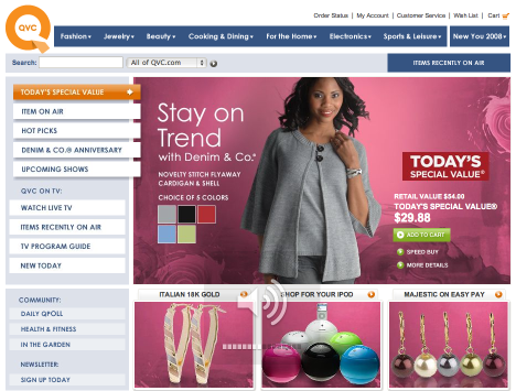 qvc QVC expands online community to full social networking site