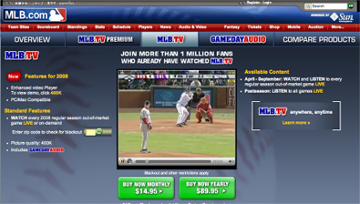 mlb MLB partners with Swarmcast to bring all baseball games online