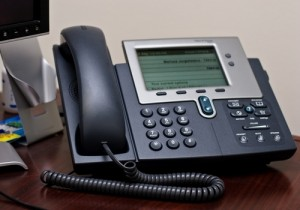2942 voip phone network office 1 300x210 4 Considerations When You Give Up Your Office Phone Line