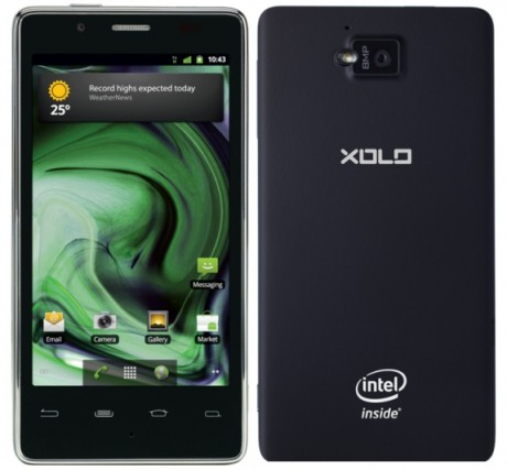Lava XOLO X900 460x427 First Intel Powered Smartphone To Be Released in India