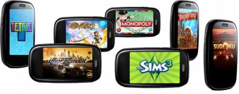 PalmPre 3D Games
