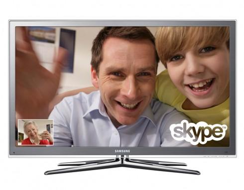 SamsungTV SkypeCall 1 490x382 Samsung Embeds Skype into LED HDTVs
