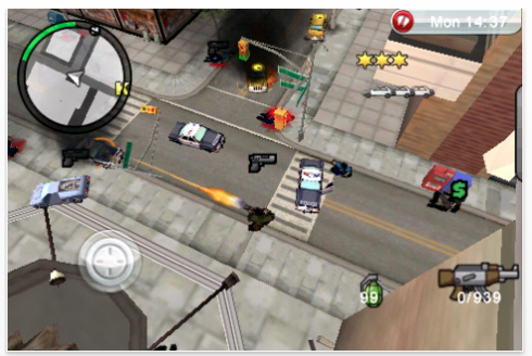 Screen shot 2010 01 18 at 11.41.47 PM 490x328 Grand Theft Auto: Chinatown Wars Up for Grabs at the iTunes Apps Store