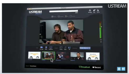 Screen shot 2010 01 29 at 6.03.39 AM 490x284 Ustream Launches Producer, a Desktop Client to Help You Do Live Broadcasts