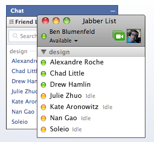 Screen shot 2010 02 11 at 5.31.58 AM Facebook Connects Chat Client to AOL, Other IM Platforms