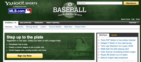 Screen shot 2010 03 08 at 10.55.19 PM 490x216 MLB.com Names Yahoo Sports Fantasy Baseball 10 as Official Fantasy Game