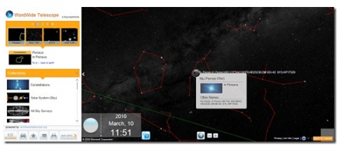 Screen shot 2010 03 18 at 4.44.20 AM 490x219 Stargazing with Bing Maps  World Wide Telescope App