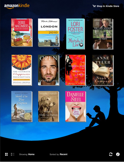Kindle Apps for Tablet