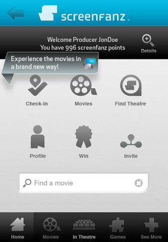 Screenfanz Enhancing the Movie Theater Experience Using a Mobile App
