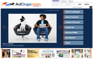 addogs 300x193  AdDogs goes live