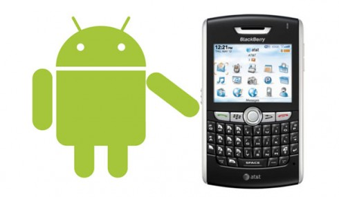 androidappsblackberry 490x285 Why Is Blackberry Courting Android?