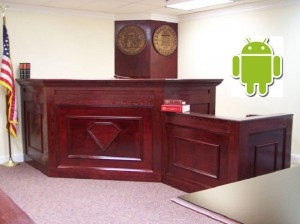 androidcourtroom Microsofts Lawsuits Against Android Are Paying Off
