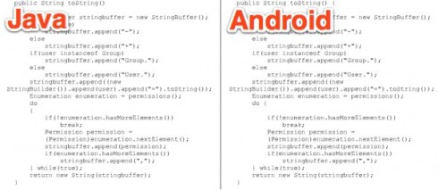androidjavaoracle 490x213 Android Fail: Evidence That Google Copied Oracles Code?
