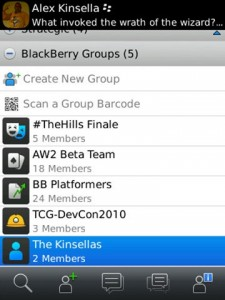 bbm groups 1 225x300 Can BBM Aid RIMs War Against The iPhone?