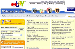 ebay eBay to open site