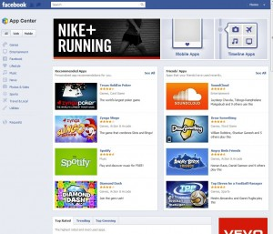 facebook ad center 300x257 Facebook Releases its own App Center