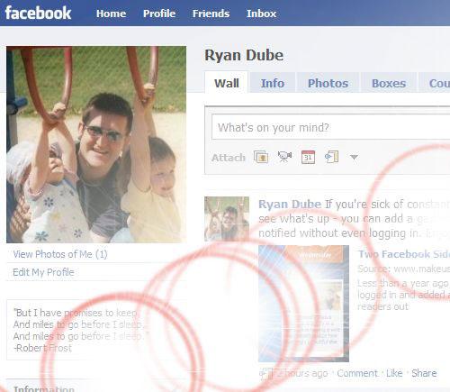 Facebook Flare