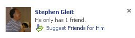 facebook-only-one-friend
