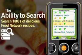 food Airborne Mobile, Food Network cooking up a tasty new mobile application