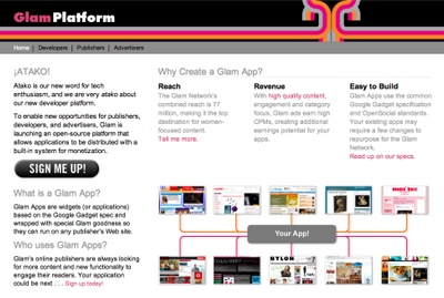 glamplatform Glam Media launches Glam Apps Platform