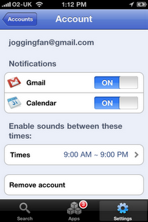 gmail notifications Google Updates Mobile App, Endangers Default iPhone Apps