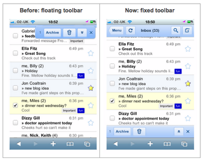 gmailmobileui Dear Gmail, We Need A Native iPhone App