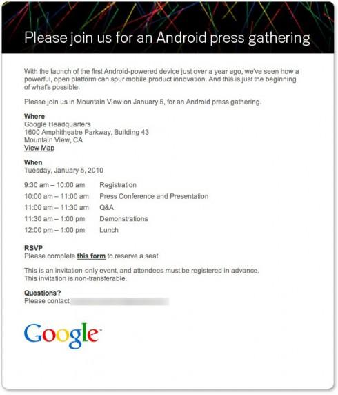 googleandroidpressinvite