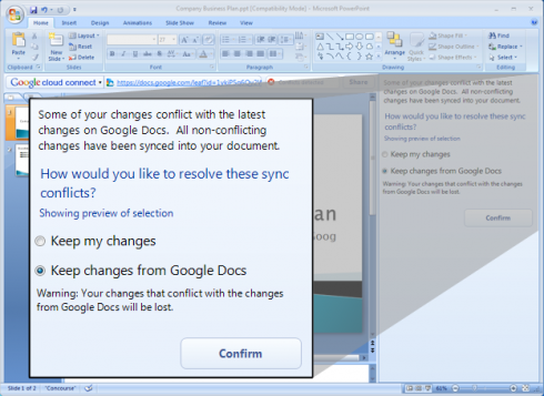 googlecloudconnect 490x357 Google Docs Syncs With MS Office, Is OpenOffice Next?