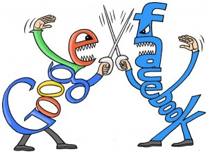 googlefacebookfight 300x222 Geek Wars: Google Blocks User Data From Facebook