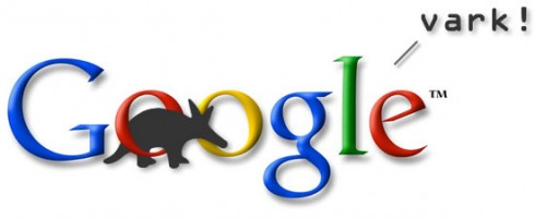 googlevark 490x201 Social Search Engine Aardvark Joins Google